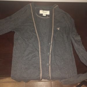 American Eagle Outfitters grey cardigan